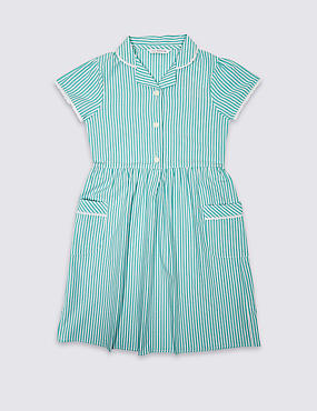 Classic Summer Striped Dress