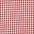 Girls' Gingham Pleated Dress, RED, swatch