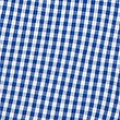 Checked Pure Cotton Playsuit (2-14 Years), BLUE, swatch