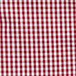 Girls' Easy Dressing Checked Pure Cotton Dress, RED, swatch