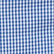 Girls' Easy Dressing Checked Pure Cotton Dress, BLUE, swatch