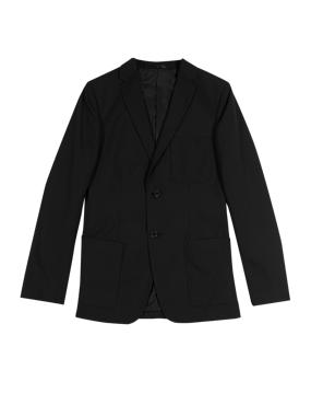 Senior Boys' Crease-Resistant Blazer with Triple Action Stormwear™