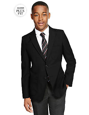 PLUS Boys' Crease Resistant Blazer
