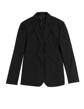 Girls Slim Fit Senior Fashion Blazer