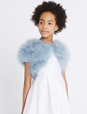 Marabou Cardigan (4-14 Years)
