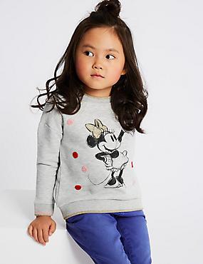 Minnie Mouse™ Sweatshirt (3 Months - 7 Years), GREY, catlanding