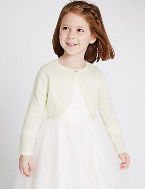 Long Sleeve Bridal Cardigan (1-14 Years)