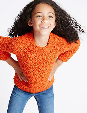 Pom-Pom Long Sleeve Jumper (1-7 Years)