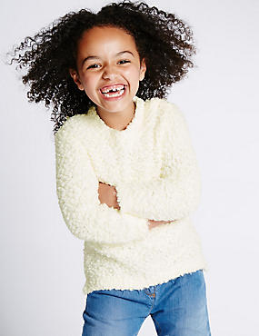 Long Sleeve Pom Jumper (1-7 Years)