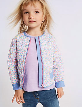 Pure Cotton Zip Through Jumper (3 Months - 7 Years)