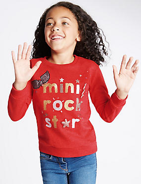 Mini Rock Star Sweatshirt (1-7 Years)