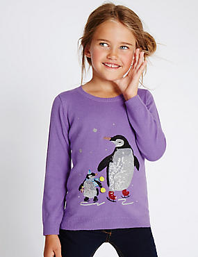 Long Sleeve Round Neck Jumper (1-7 Years)