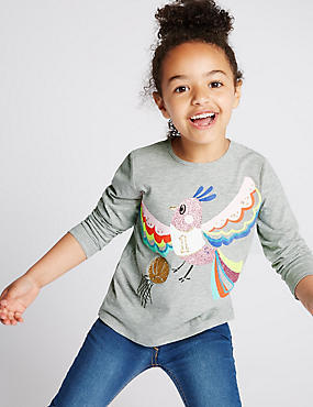 Parrot Print T-Shirt (1-7 Years)