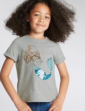 Disney Princess Ariel T-Shirt (1-7 Years)