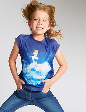 Disney Princess Cinderella T-Shirt (1-7 Years)