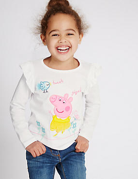 Peppa Pig™ Pure Cotton Top (3 Months - 5 Years)