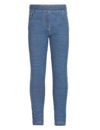 Cotton Rich Denim Jeggings (1-7 Years) Clothing