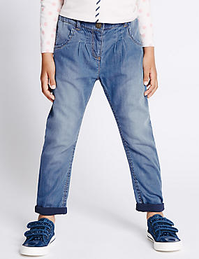 Pure Cotton Denim Jeans (1-7 Years)
