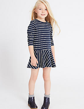 Cotton Rich Striped Dress (3 Months - 5 Years)