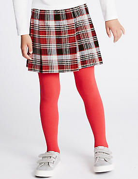 Checked Kilt A- Line Skirt (1-7 Years)