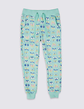 Butterfly Print Joggers (3 Months - 5 Years)