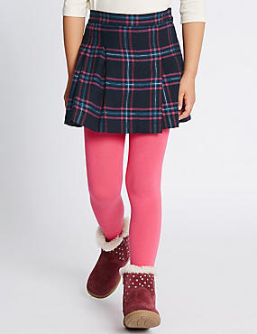 Checked Kilt A-Line Skirt (1-7 Years)