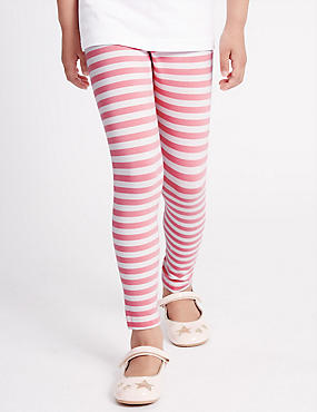 Cotton Rich Striped Leggings with StayNEW™ (3 Months-5 Years)