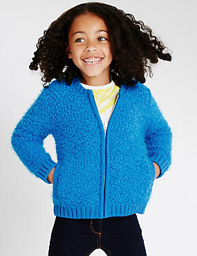 Long Sleeve Bomber Cardigan (1-7 Years)