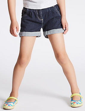 Cotton Rich with Stretch Denim Shorts (1-7 Years)