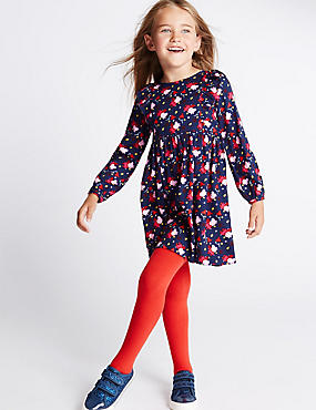 Peppa Pig™ Woven Dress with Tights (1-7 Years)