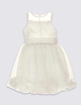 Petal Hem Dress (1-14 Years)