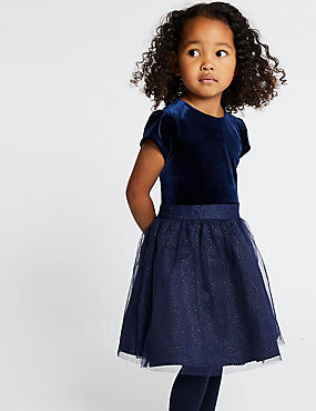 Sparkle Prom Dress (3 Months - 7 Years), NAVY, catlanding