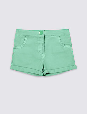 Cotton Denim Shorts with Stretch (3 Months - 5 Years)