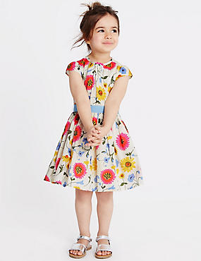 Girls Dresses - Flower Girl Dresses & Playsuits for Girls | M&S
