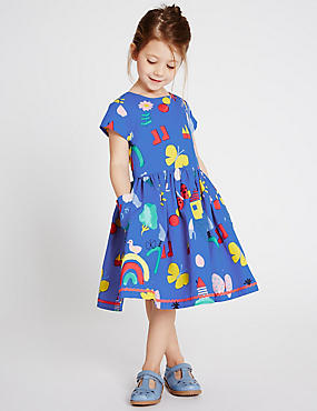 Pure Cotton Prom Dress (3 Months - 5 Years)