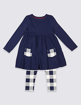 2 Piece Dress & Leggings Outfit (3 Months - 5 Years)