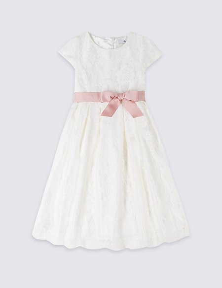 Lace Bow Dress (1-16 Years)