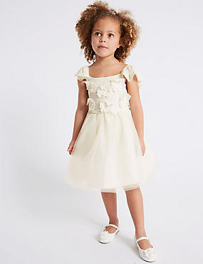 Cross Back Sequin Dress (3-16 Years)