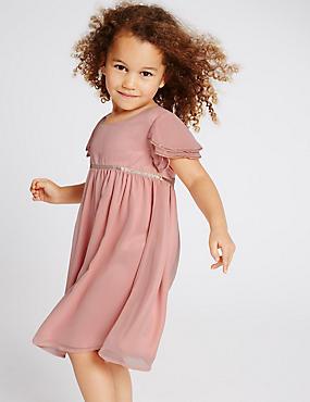 Girls Dresses - Flower Girl Dresses & Playsuits for Girls | M&S