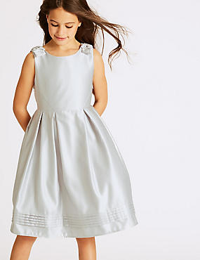 Bow Detail Dress (1-14 Years)
