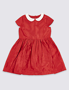 Peter Pan Collar Dress (1-10 Years)