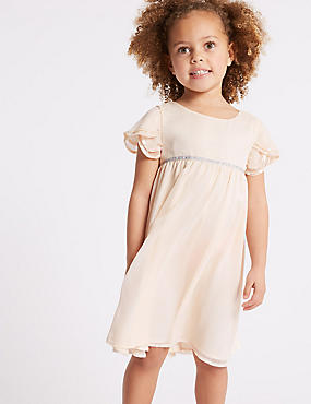 Chiffon Sequin Dress (1-7 Years)