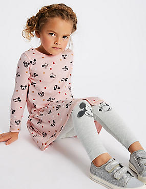 Minnie Mouse™ Top & Leggings Outfit (3 Months - 7 Years), PINK MIX, catlanding