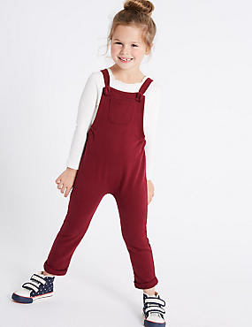 Cotton Rich Dungarees (3 Months - 6 Years)