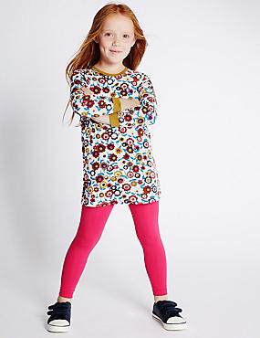 2 Piece All Over Print Top & Leggings Outfit (1-7 Years)