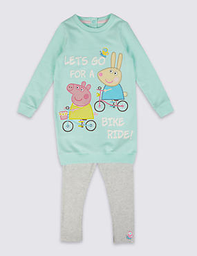 Peppa Pig™ Top & Leggings Outfit (1-5 Years)