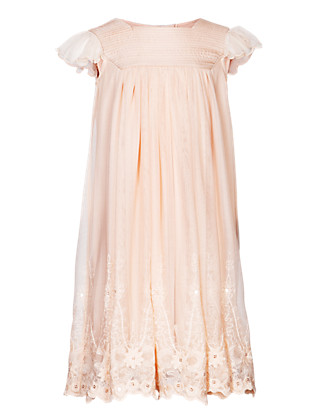 Floral Lace Bridesmaid Girls Dress (1-7 Years) Clothing