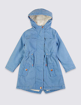 Cotton Rich Parka Coat (3 Months - 5 Years)