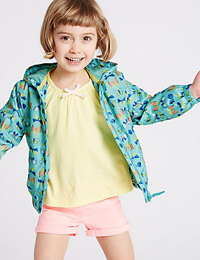 Butterfly Print Bomber Jacket (3 Months - 5 Years)
