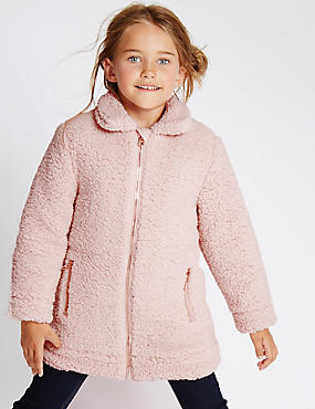 Long Sleeve Fleece Coat (1-7 Years)